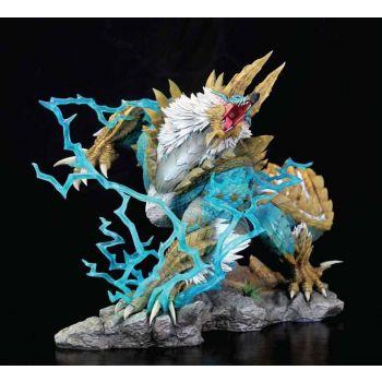 Monster Hunter diorama Zinogre 1/10 The Thunder Wolf Wyvern 56 cm