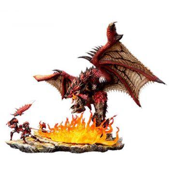Monster Hunter diorama 1/10 Rathalos The Fiery Bundle 52 cm