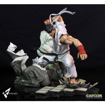 Street Fighter diorama Battle of the Brothers 1/6 Ryu 45 cm