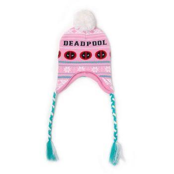 Deadpool bonnet de ski Pink Xmas Laplander