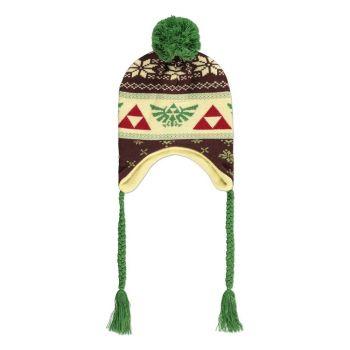 The Legend of Zelda bonnet de ski Triforce Laplander