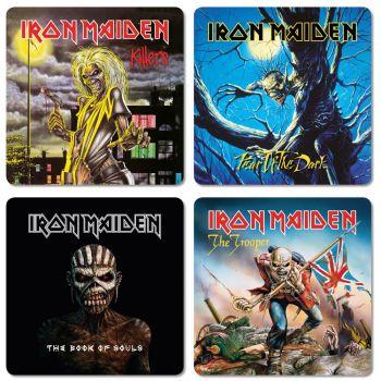 Iron Maiden sous-verres (4)