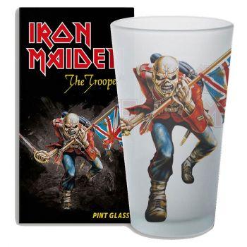 Iron Maiden verre The Trooper