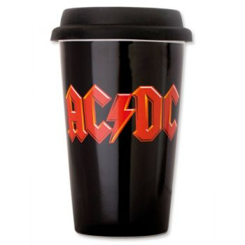 AC/DC mug de voyage Logo