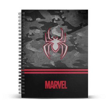 Marvel carnet de notes A4 Spider-Man Dark