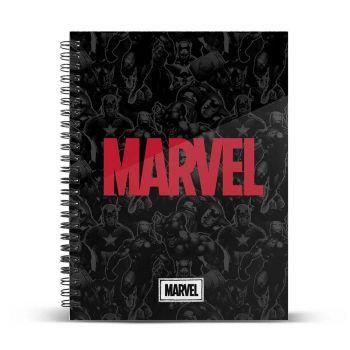 Marvel carnet de notes A4 Marvel Logo
