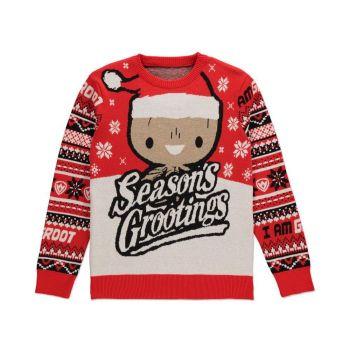Les Gardiens de la Galaxie Sweater Christmas Season's Grootings