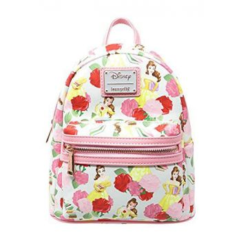 Disney by Loungefly sac à dos Beauty and the Beast Belle Rose AOP heo Exclusive