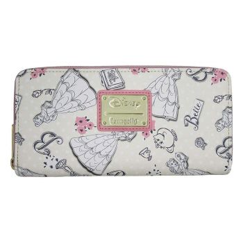 Disney by Loungefly Porte-monnaie Beauty and the Beast Creme heo Exclusive