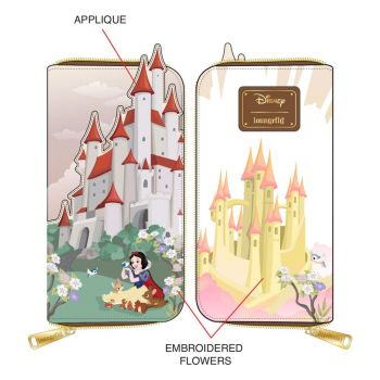 Disney by Loungefly Porte-monnaie Snow White Castle Series