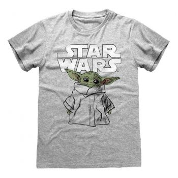 Star Wars The Mandalorian T-Shirt Child Sketch