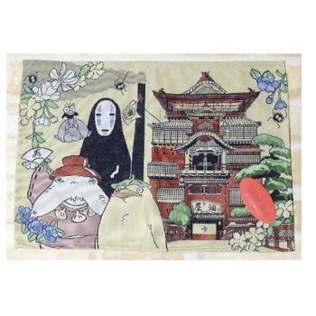 Le Voyage de Chihiro set de table tissu No Face