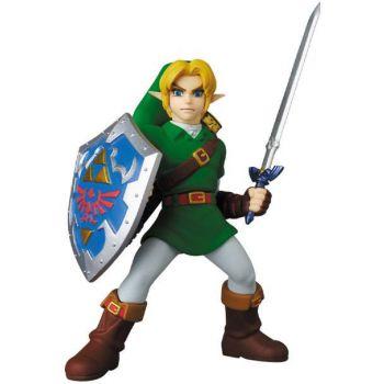 Legend Of Zelda mini figurine Medicom UDF Link Ocarina of Time Ver. 8 cm