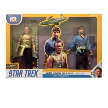 Star Trek pack 2 figurines Mirror Universe Spock & Kirk 20 cm