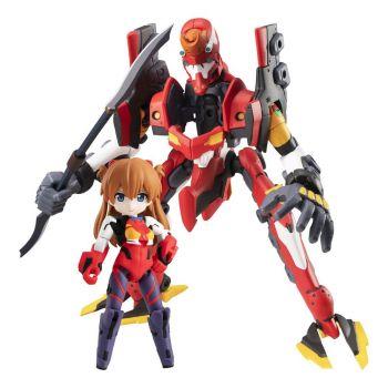 Evangelion figurines Desktop Army Ayanami Shikinami Asuka Langley & Evangelion 2 8 - 15 cm