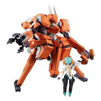 Desktop Army figurine F-606s TR s Frea First (Trial Color) 21 cm