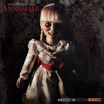 Conjuring : Les Dossiers Warren réplique poupée Annabelle 46 cm