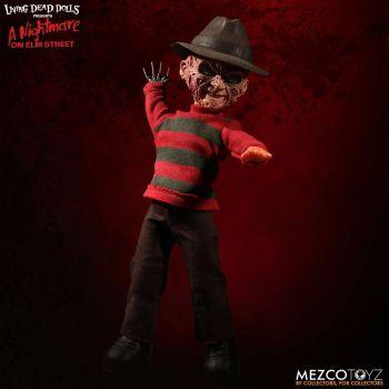 Freddy Les Griffes de la nuit poupée sonore Freddy Krueger 25 cm