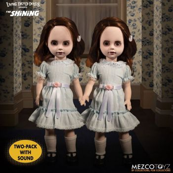 Shining Living Dead Dolls pack poupées sonores The Grady Twins 25 cm
