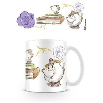 La Belle et la Bête mug Chip Enchanted