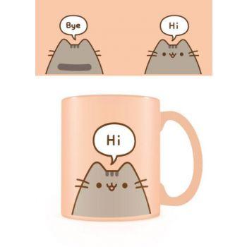 Pusheen mug Hello Goodbye