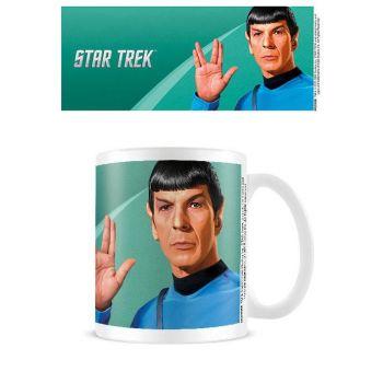 Star Trek mug Spock Green