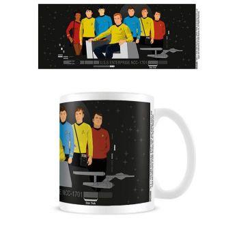 Star Trek mug Characters Illustration