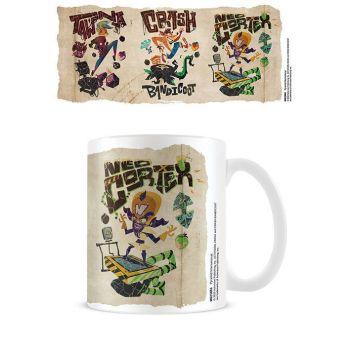 Crash Bandicoot 4 mug Parch-Mental