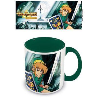 Legend of Zelda mug Coloured Inner The Lost Woods