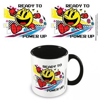 Pac-Man mug Coloured Inner Power Up