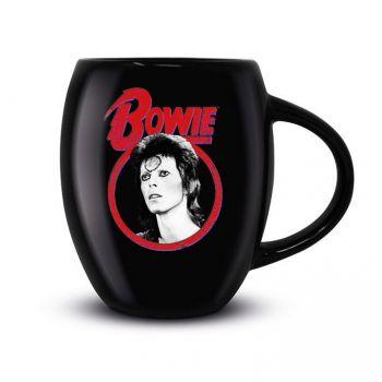 David Bowie mug Oval Classic Rock