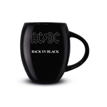 AC/DC mug Oval Back in Black