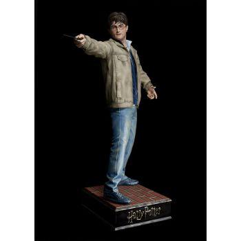 Harry Potter et les Reliques de la Mort statue 1/1 Harry Potter 182 cm