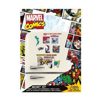 Marvel Comics pack aimants Retro Heroes