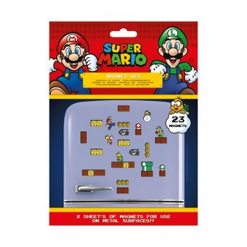 Super Mario pack aimants Mushroom Kingdom