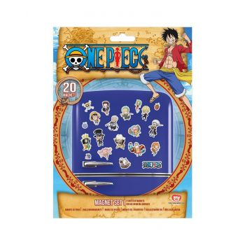 One Piece pack aimants Chibi