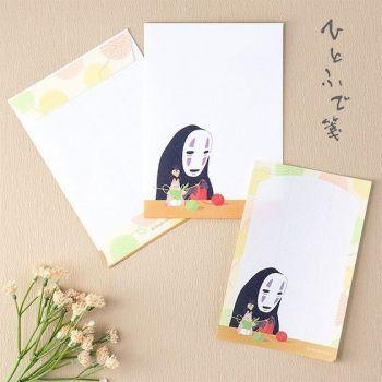 Le Voyage de Chihiro set de papeterie No-Face