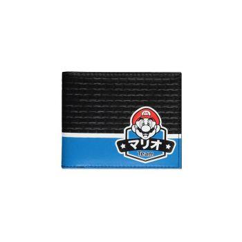 Nintendo porte-monnaie Bifold Team Mario