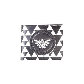 The Legend of Zelda porte-monnaie Triforce Black & White