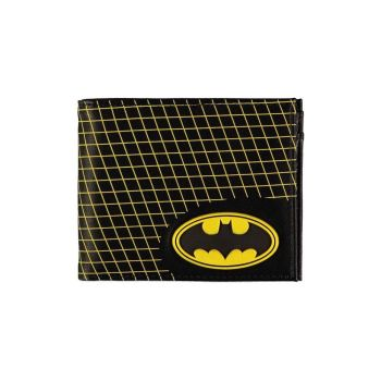 Batman porte-monnaie Bifold Grid