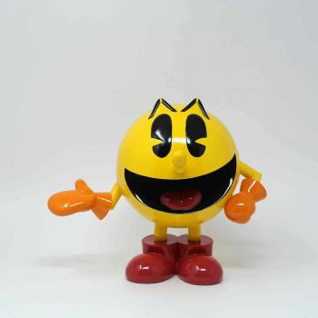 Pac-Man statuette Icons Pac-Man Classic Yellow 20 cm