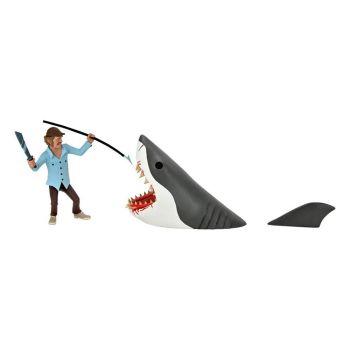 Les Dents de la mer pack 2 figurines Toony Terrors Jaws & Quint 15 cm