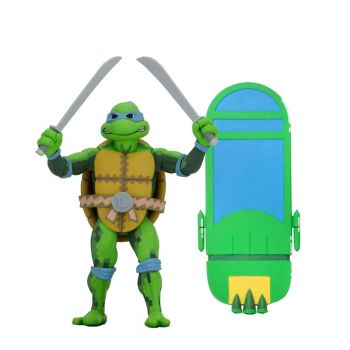 Les Tortues ninja: Turtles in Time série 1 figurine Leonardo 18 cm  --- EMBALLAGE ENDOMMAGE