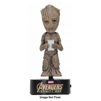 Avengers Infinity War Body Knocker Bobble Figure Groot 16 cm