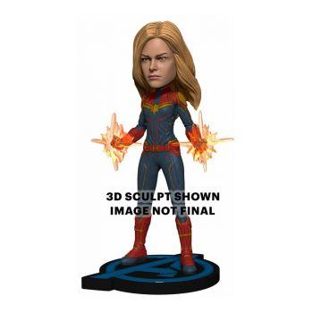 Avengers: Endgame Head Knocker Captain Marvel 20 cm