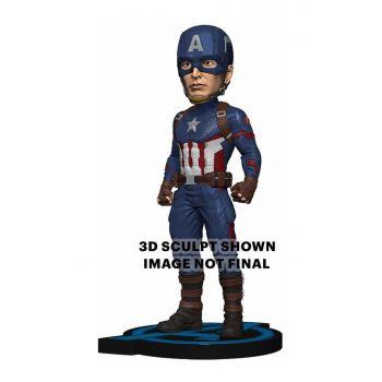 Avengers: Endgame Head Knocker Captain America 20 cm