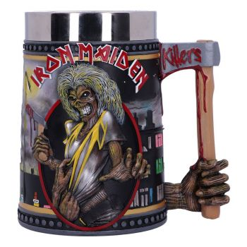 Iron Maiden chope The Killers