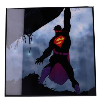 Superman décoration murale Crystal Clear Picture The New 52 32 x 32 cm