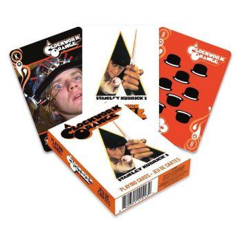 Orange mécanique jeu de cartes à jouer Movie