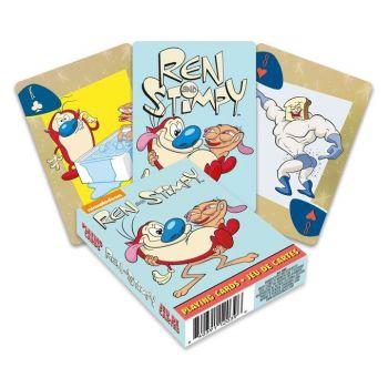 Ren & Stimpy jeu de cartes à jouer Cartoon